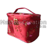 red traditional makeup case