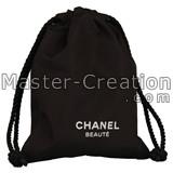 cosmetic brush drawstring bag