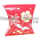 red gift paper box