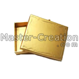 gold paper box