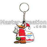 carnival silicon gift keychain