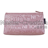 pink cosmetic purse bag