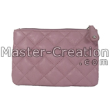 pu leather quilted bag