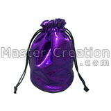 purple drawstring pouch