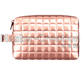 quilted cosmetic bottle bag