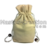 cotton drawstring pocket