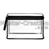 clear makup case concise style