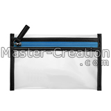 fashion pvc zipper bag