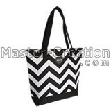 chevron shoulder bag